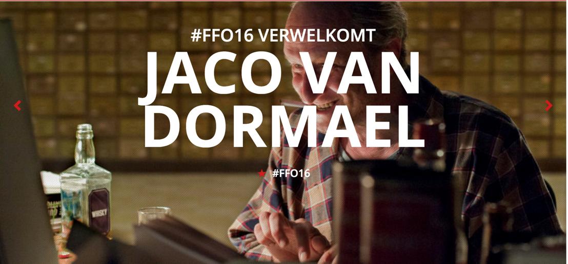 #FFO16 verwelkomt gelauwerd regisseur Jaco Van Dormael