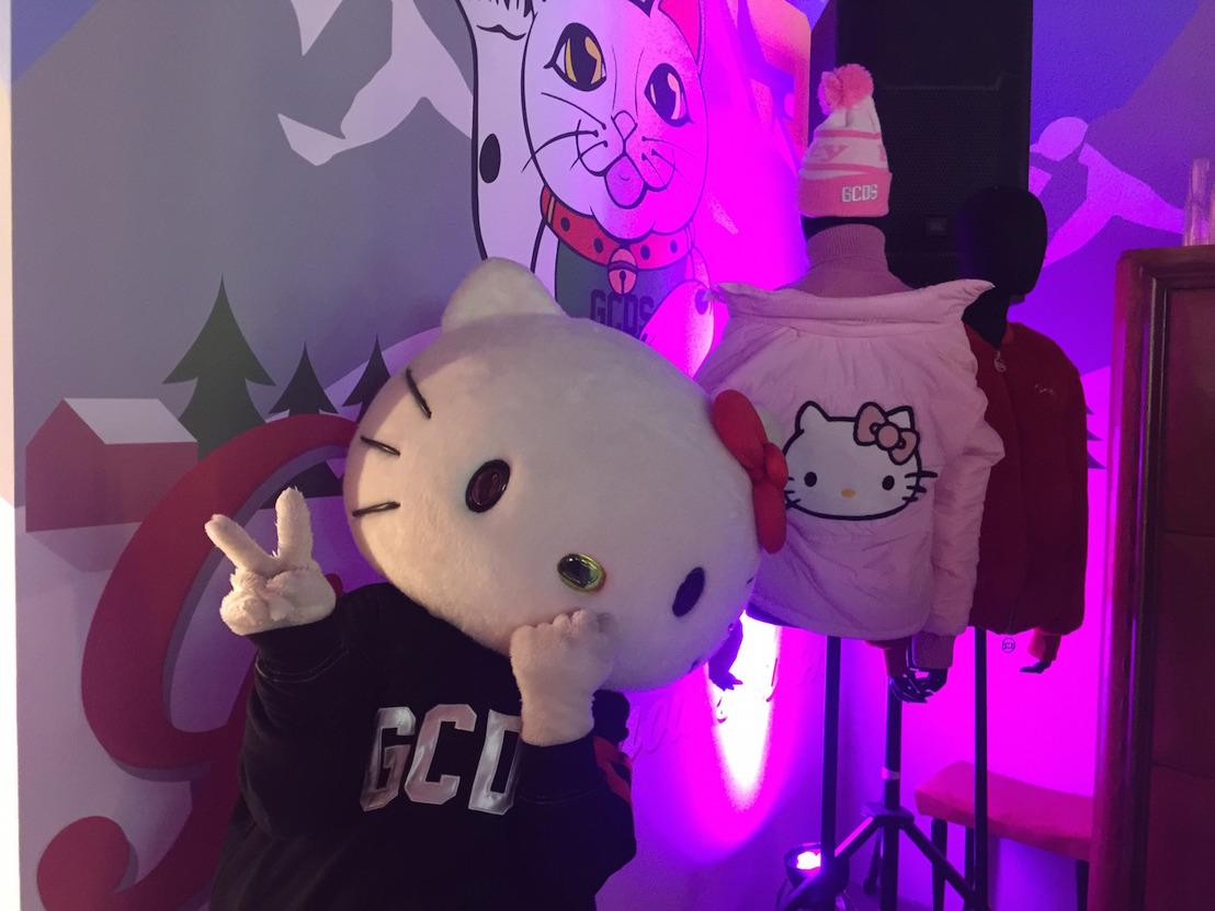 ¡GCDS colabora con Hello Kitty en Milan Fashion Week!