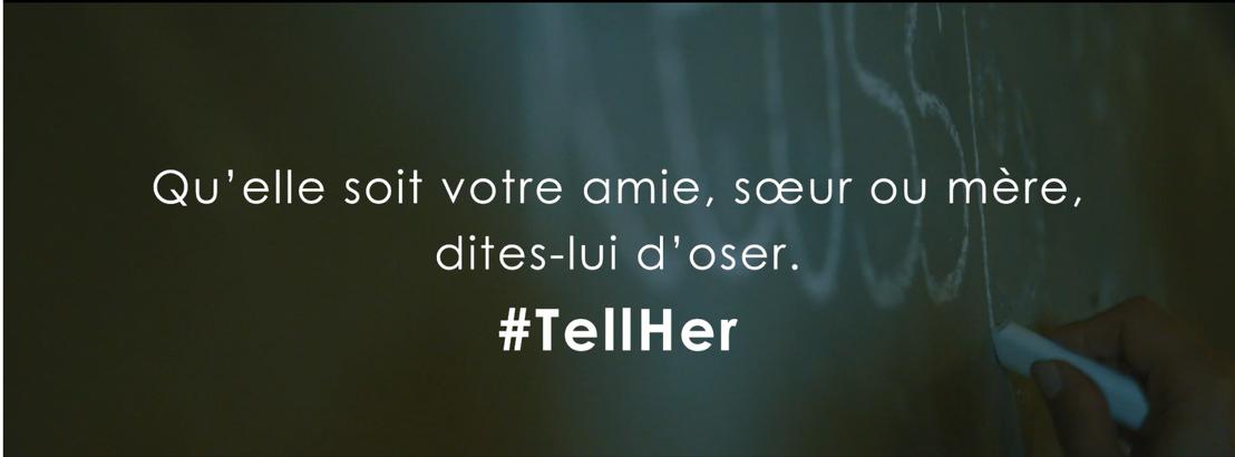 Amway lance la campagne #TellHer pour encourager les femmes belges à devenir entrepreneuses