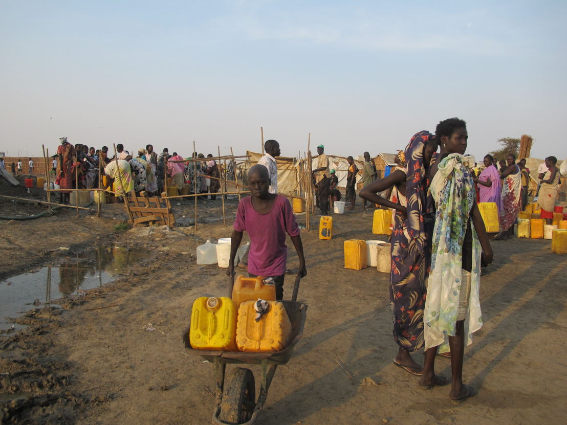 "Le site de ""protection des civils"" à Bentiu. (c) MSF/ Béatrice Debut"