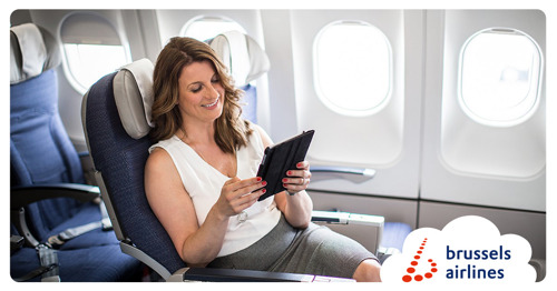 Brussels Airlines replaces printed newspapers with e-newspapers