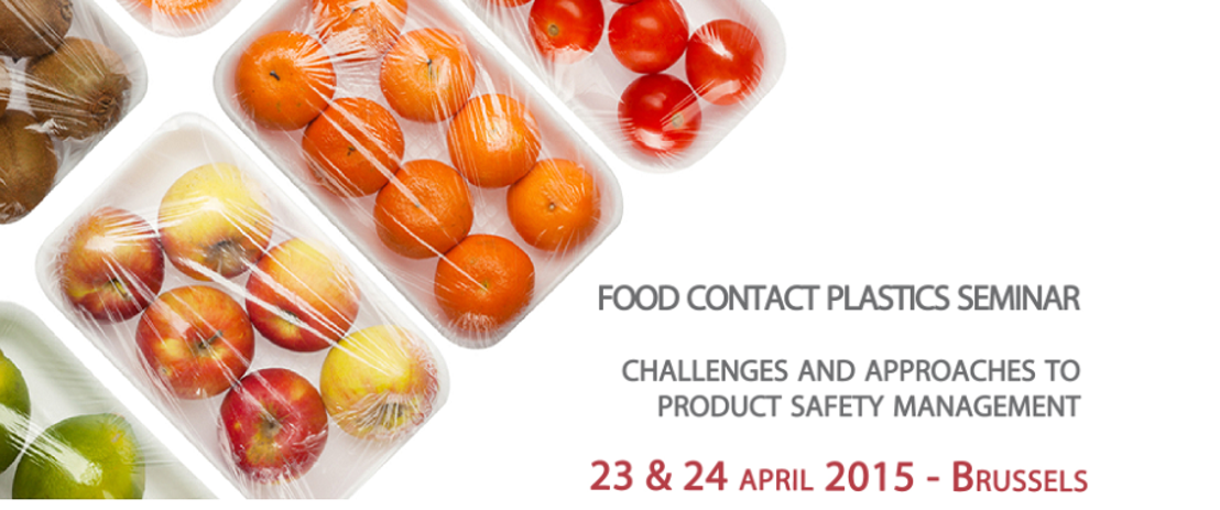 Food Contact Plastics Seminar 2015