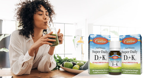 Carlson Announces New Size and Strength of Super Daily® D3 + K2