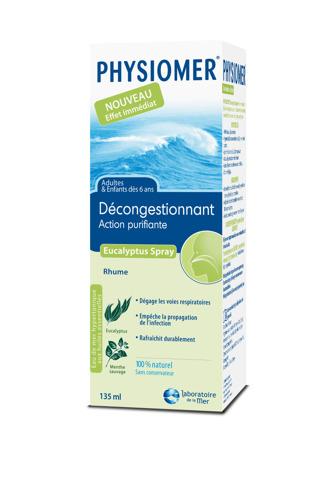Physiomer Eucalyptus, solution rapide contre les rhumes avec une excellente tolérance !
