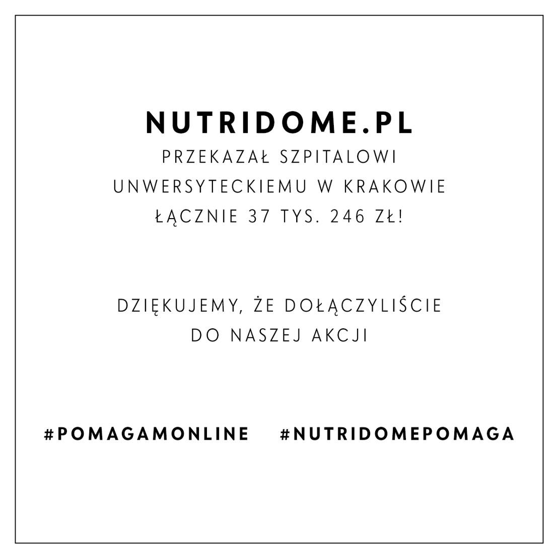 Nutridome dla Szpitala Uniwersyteckiego w Krakowie