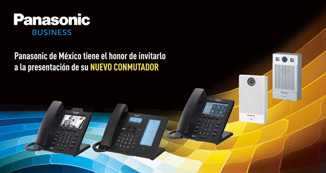 Panasonic anuncia gira de presentación del conmutador KX-HTS32