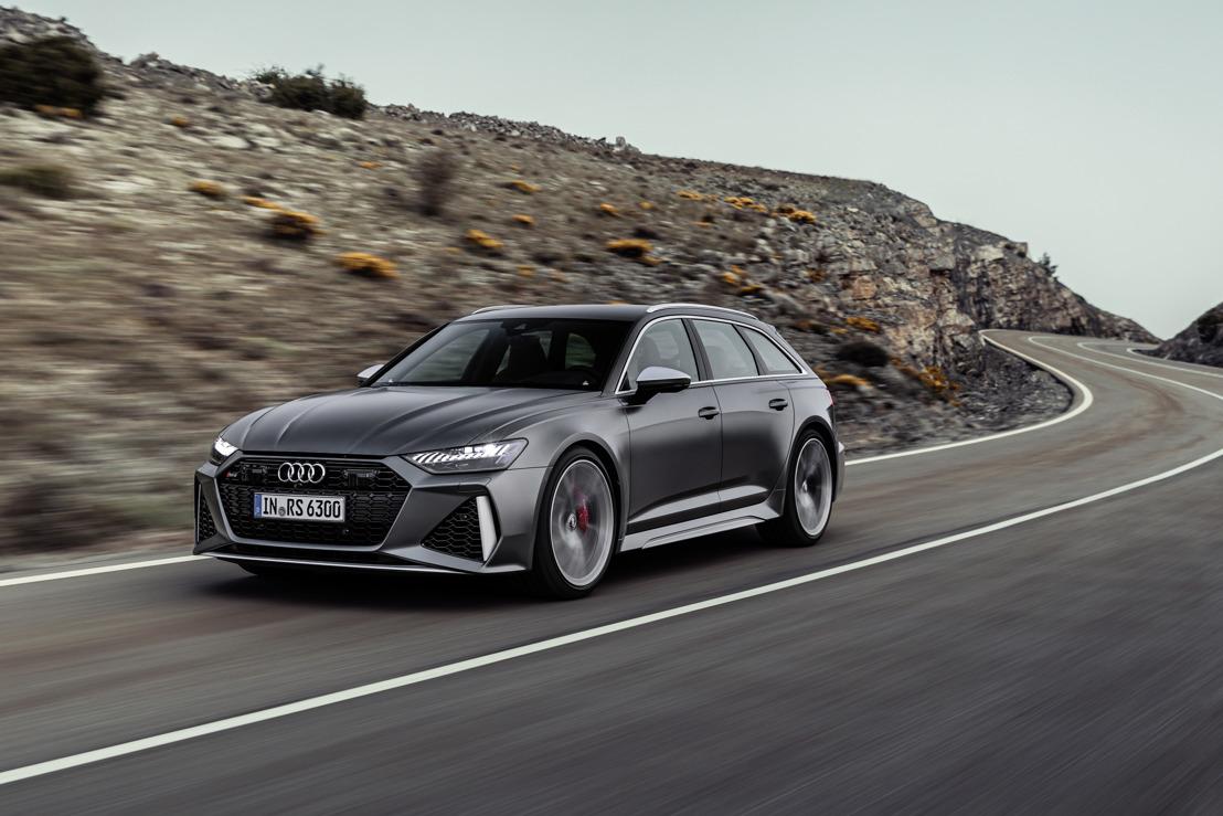 De vierde generatie van het RS-icoon: de nieuwe Audi RS 6 Avant