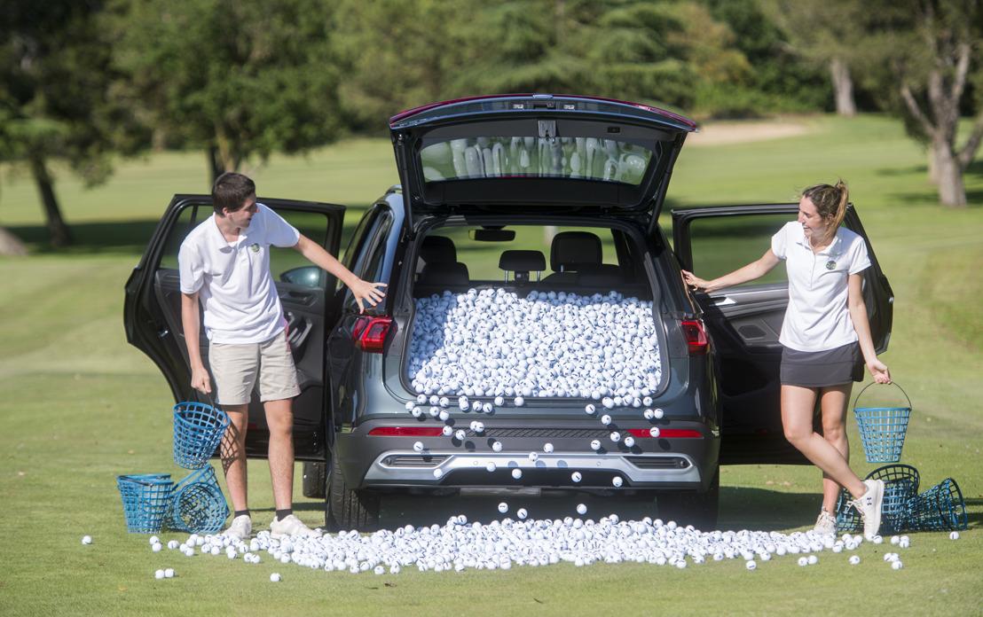 Combien de balles de golf peut-on mettre dans le coffre d'un Tarraco ?