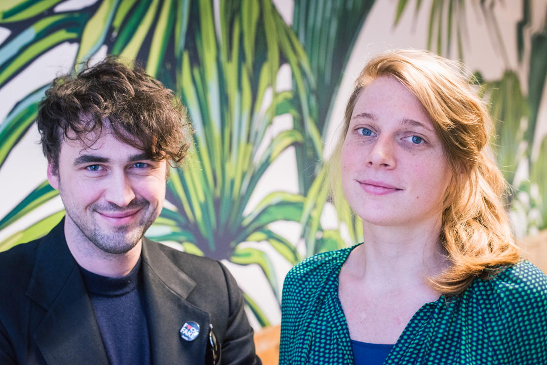 Lode Uytterschaut en Katrien Dewijngaert, founders Start it @kbc