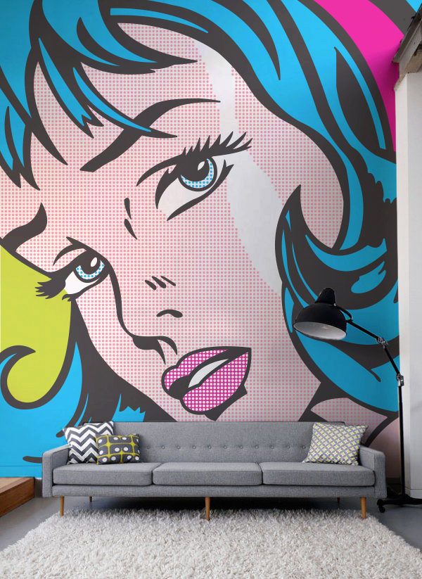Pop Art Wallpaper Mural