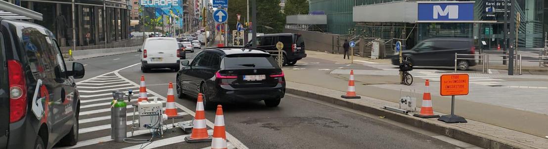 Brussel lanceert zijn eerste meetcampagne over verontreinigende emissies van voertuigen in reële omstandigheden
