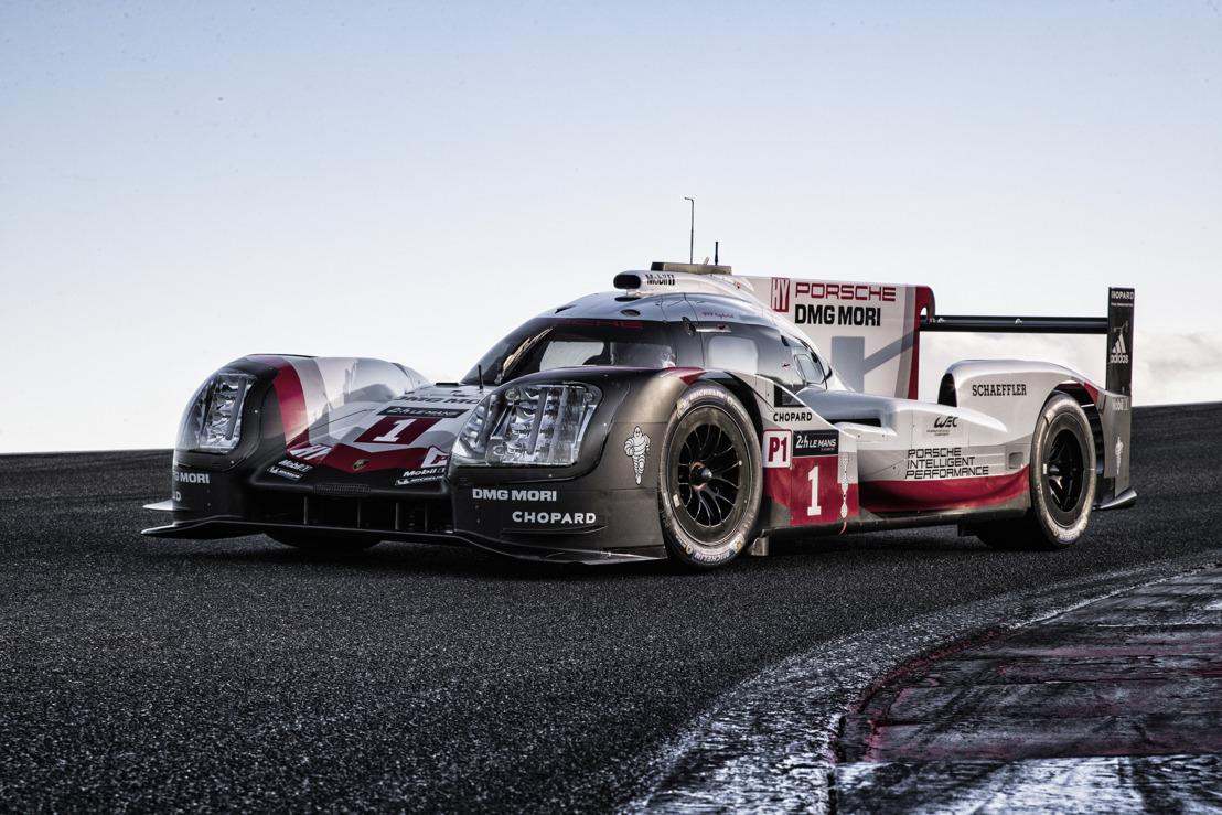 La nouvelle Porsche 919 Hybrid du Championnat du Monde d'Endurance FIA 2017