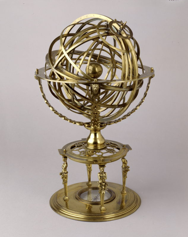 À la recherche d'Utopia © Armillary Sphere, Louvain 1573, Bayerisches Nationalmuseum, Munich