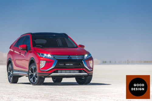 Mitsubishi Eclipse Cross and GT-PHEV scoop prestigious GOOD DESIGNtm awards