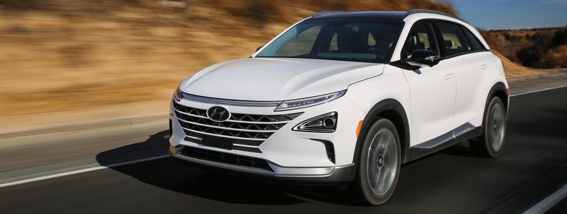 Hyundais neue Fahrzeug-Generation mit Wasserstoffantrieb heisst Nexo