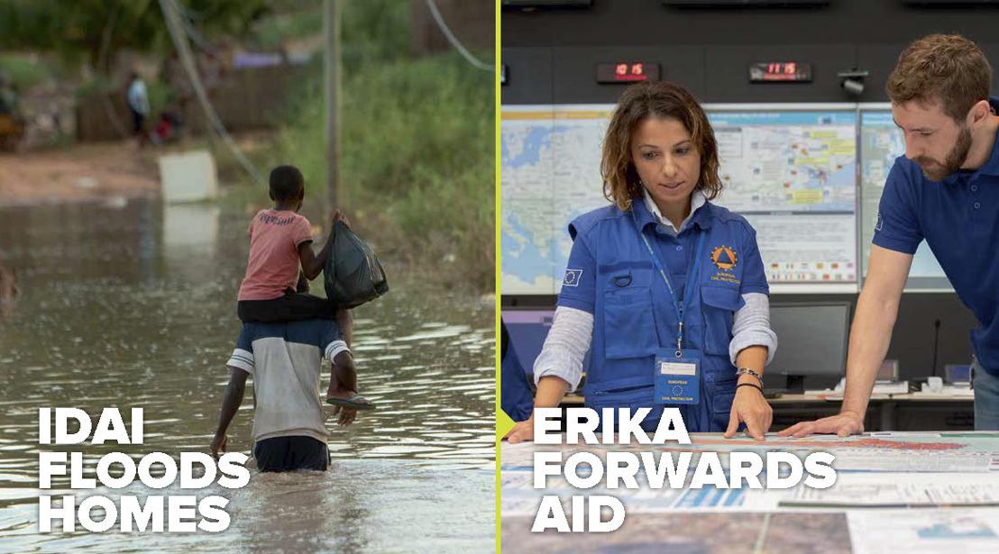 De EU biedt humanitaire hulp, AIR and ICF Next leveren de campagne.