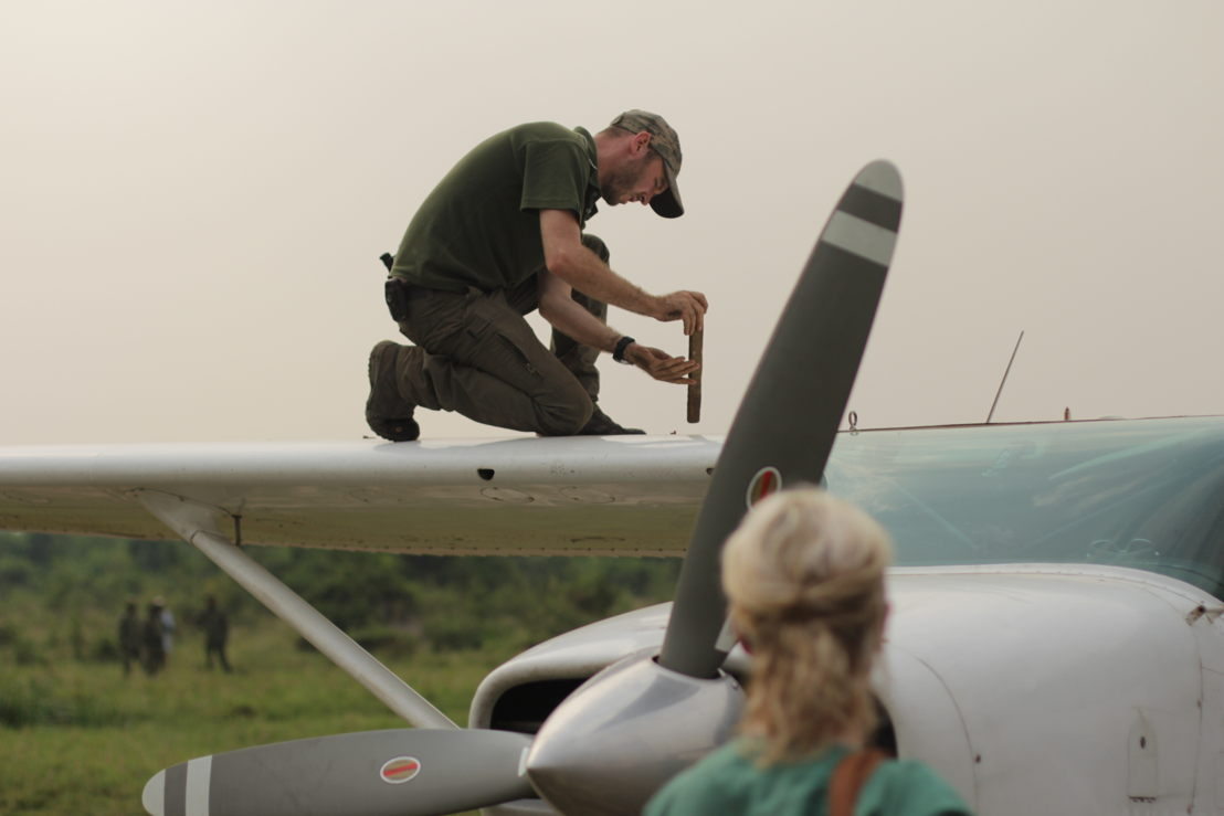Flying doctors: Virunga<br/>Piloot Anthony Caere (c) VRT