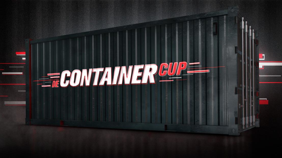 Sporticonen Remco Evenepoel en Pieter Timmers nemen het als eerste tegen elkaar op in nieuw VIER-programma De Container Cup