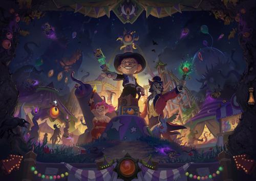 Древние боги возвращаются в Hearthstone® в дополнении «Ярмарка безумия»™, выход которого состоится 17 ноября