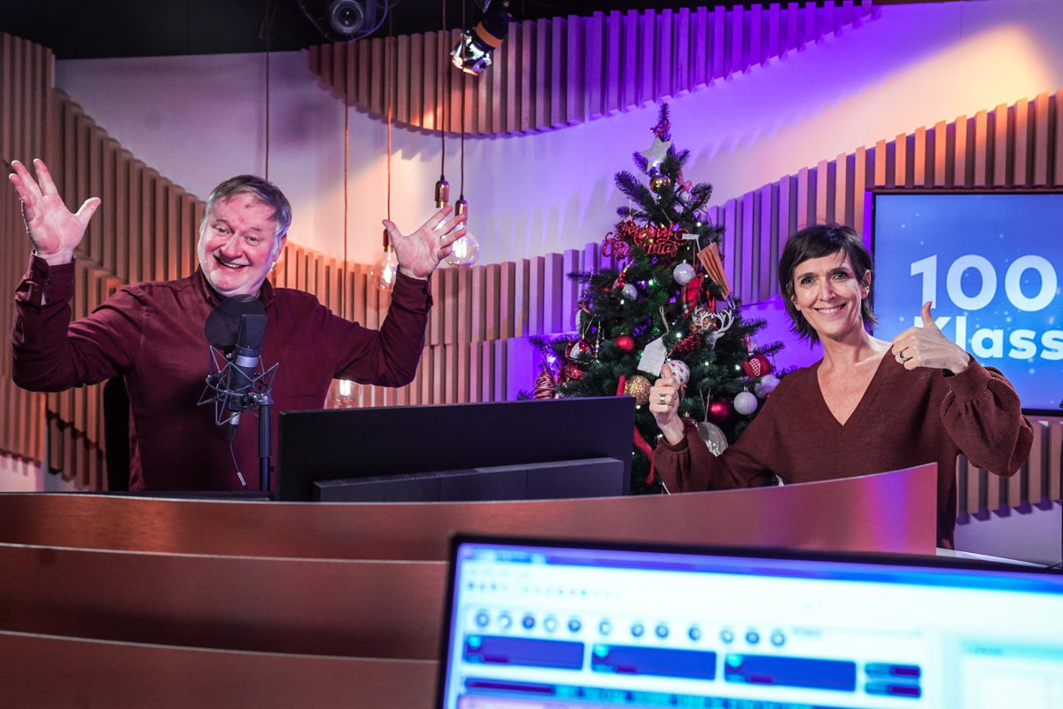 Peter Verhulst en Anja Daems (c) Radio 2