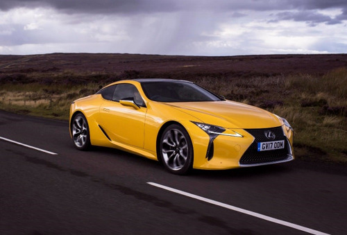 LEXUS LC NAMED COUPE OF THE YEAR IN THE AUTO EXPRESS 2018 DRIVER POWER SURVEY