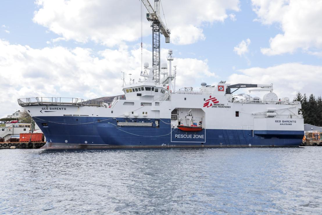 Mediterráneo central: MSF reanuda las actividades de salvamento con un nuevo barco