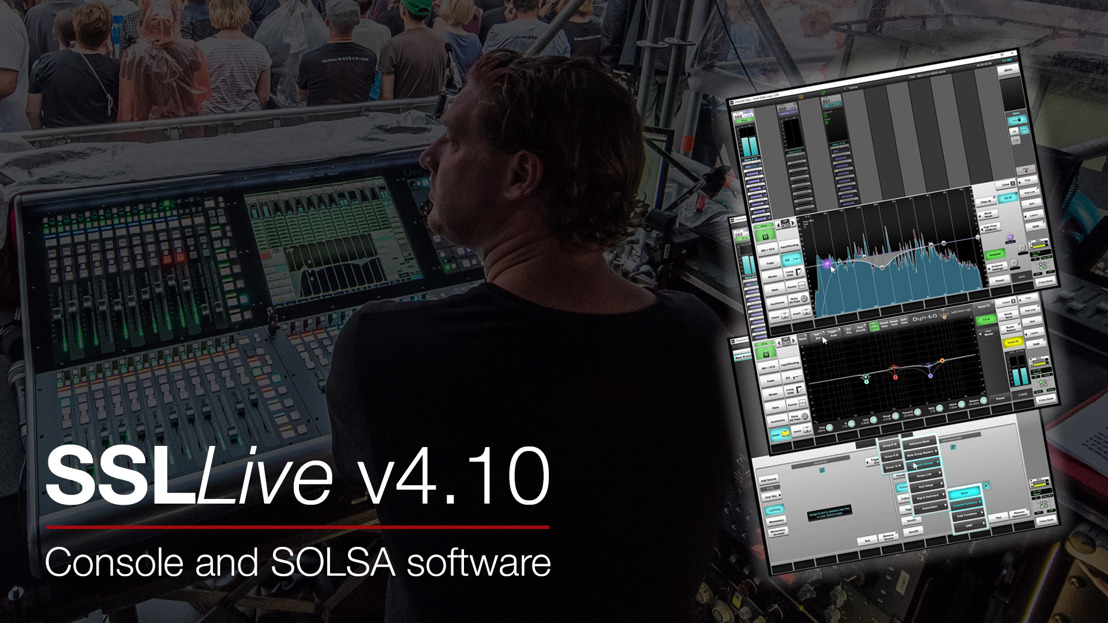 Solid State Logic Live V4.10 Feature Release