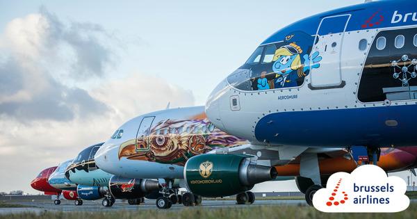 Preview: Brussels Airlines poursuit sa série de « Belgian Icons »