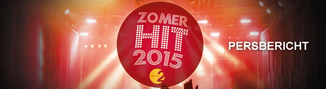Dit zijn de genomineerden voor Radio 2 Zomerhit 2015...