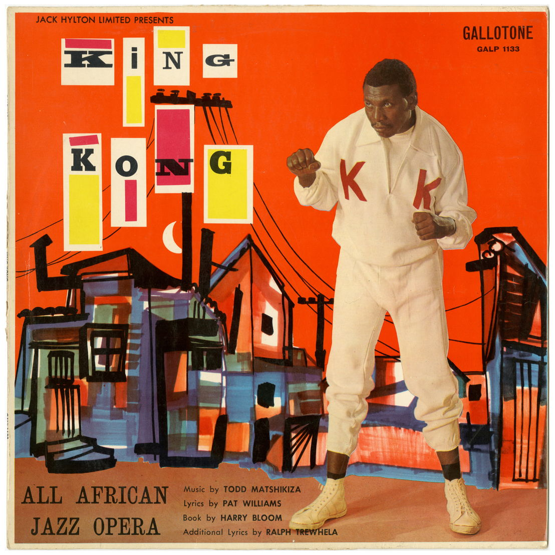 King Kong album cover - part of the September Jive exhibition