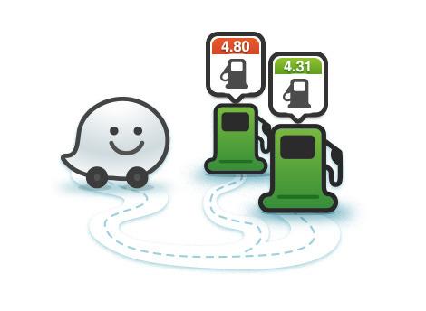 Con Waze puedes informar y conocer qué gasolinera tiene o no combustible