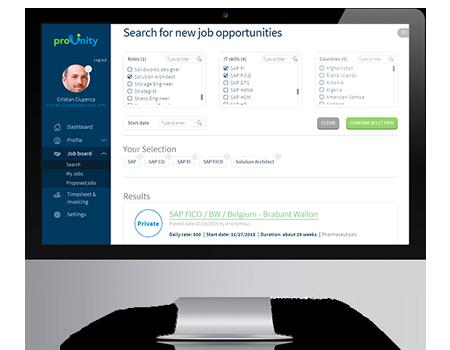 proUnity: les profils optimaux pour chaque job