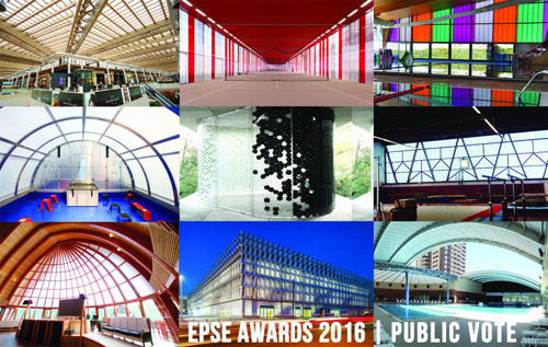 You can now vote on your favourite polycarbonate project!