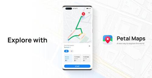 Llega siempre a tu destino con Petal Maps de HUAWEI