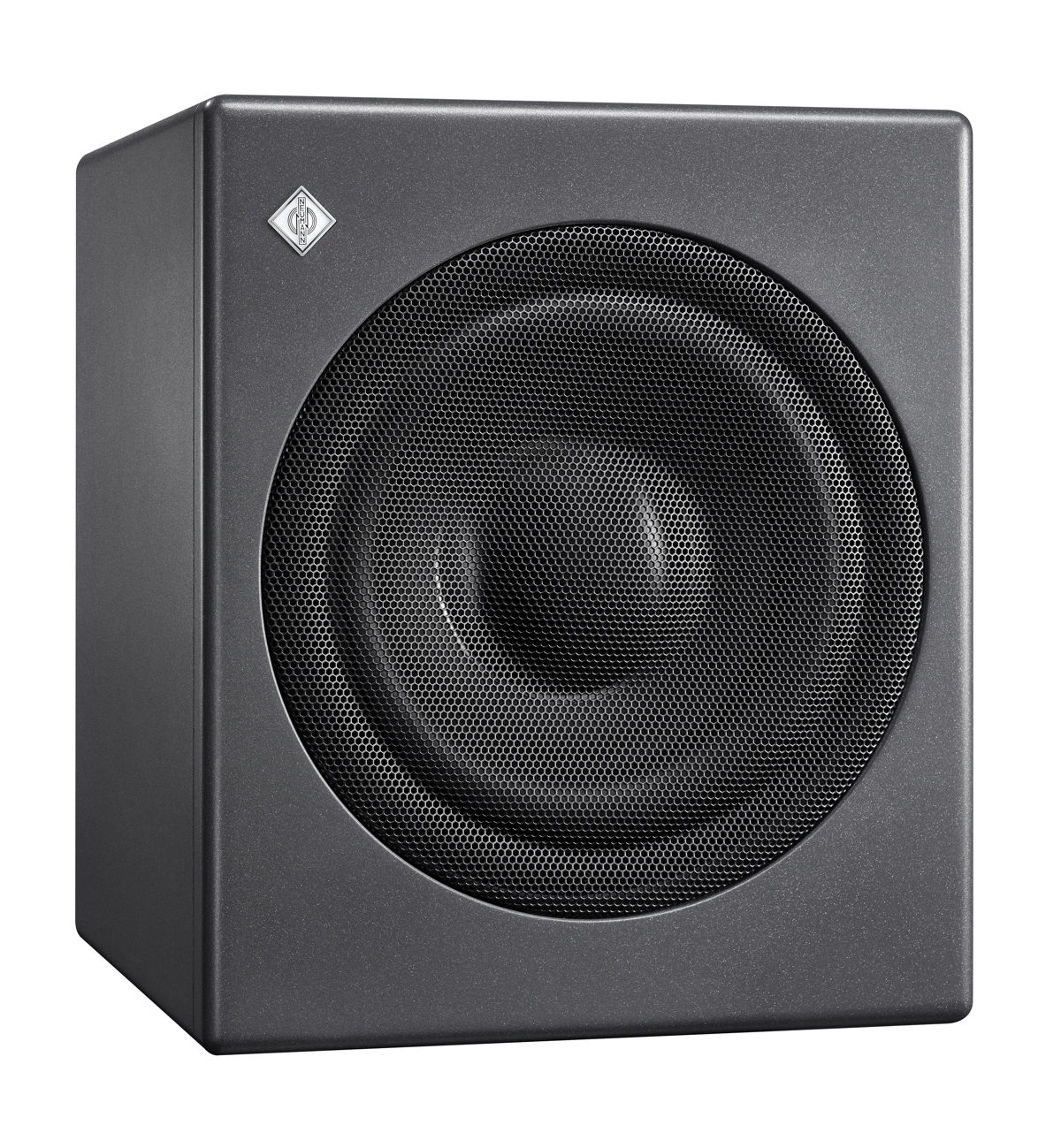 The new KH 750 DSP is a particularly compact subwoofer for broadcast, music and post production studios