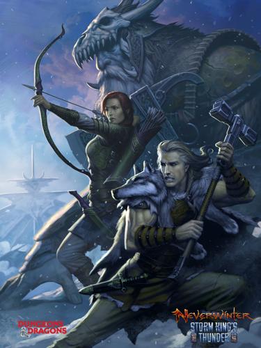 Le second volet de Neverwinter : Storm King's Thunder fait son apparition sur PlayStation®4 et Xbox One le 17 janvier