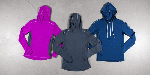 Preview: Showers Pass Trailhead Bamboo-Merino Hoodie