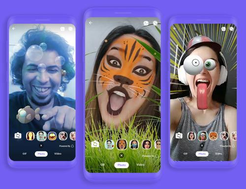 Rakuten Viber пуска филтри с добавена реалност (AR) в България