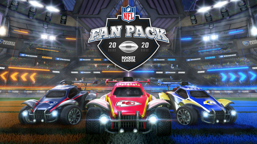 PSYONIX ANUNCIA EL NFL FAN PACK QUE ESTARÁ DISPONIBLE MAÑANA EN ROCKET LEAGUE®