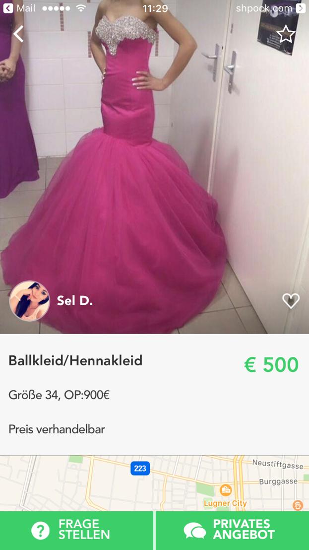 Shpock_Ballkleid4