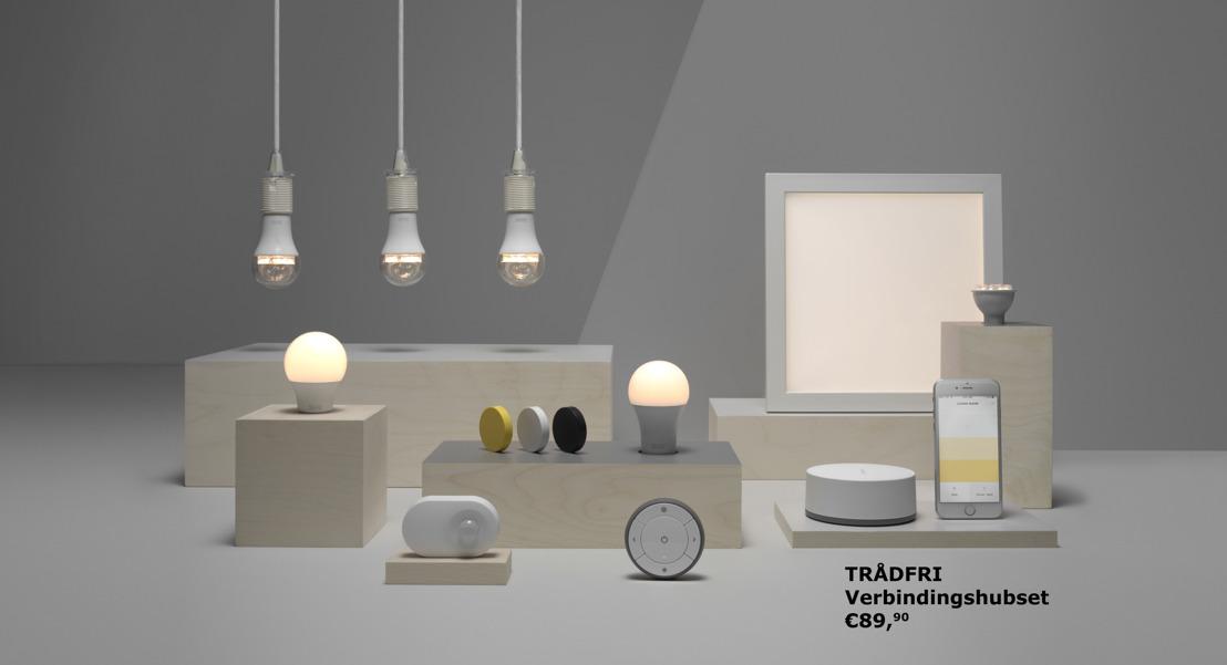 IKEA maakt slimme verlichting in huis makkelijk en betaalbaar