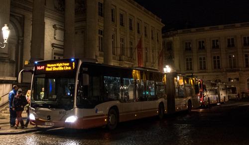 Navettes de bus gratuites pour la Museum Night Fever
