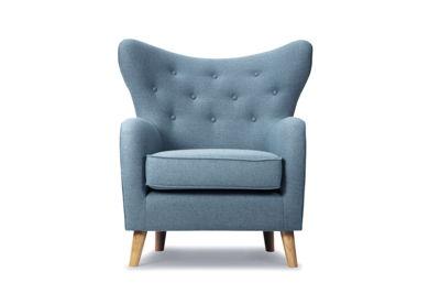 Nils chair - Andie Grey Blue