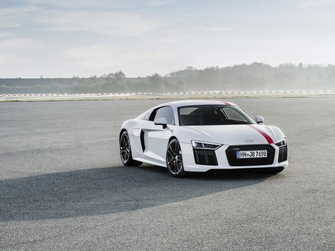 Puristische rijdynamiek: de nieuwe Audi R8 V10 RWS