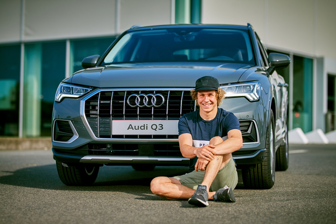 Audi partner van Belgische alpineskiër Sam Maes