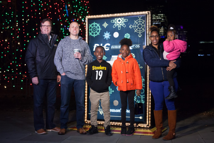 North Side 10-Year-Old and His Mentor Flipped the Switch on Iconic 'Tree of Lights'
