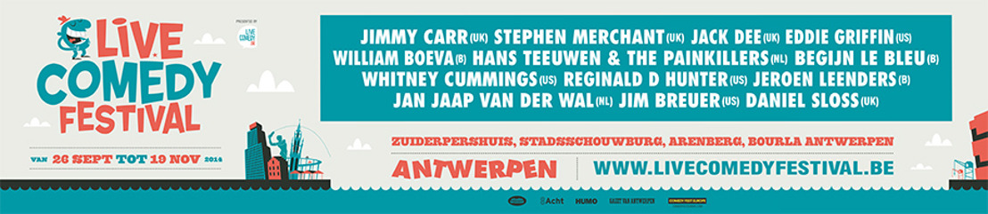 Visuals Live Comedy Festival 2014