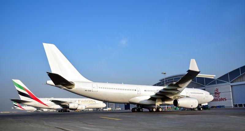 آخر طائرة إيرباص A330 أخرجتها طيران الإمارات من الخدمة.