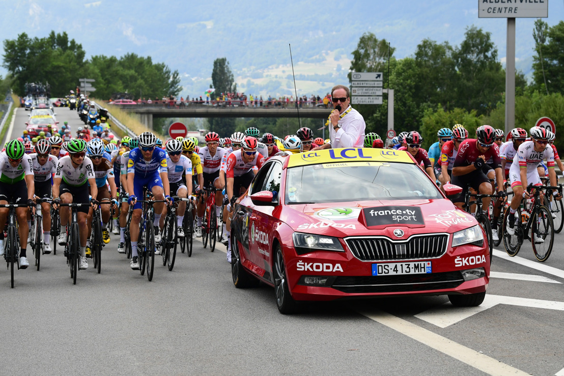 ŠKODA AUTO Official Main Partner of the Tour de France for 17th time