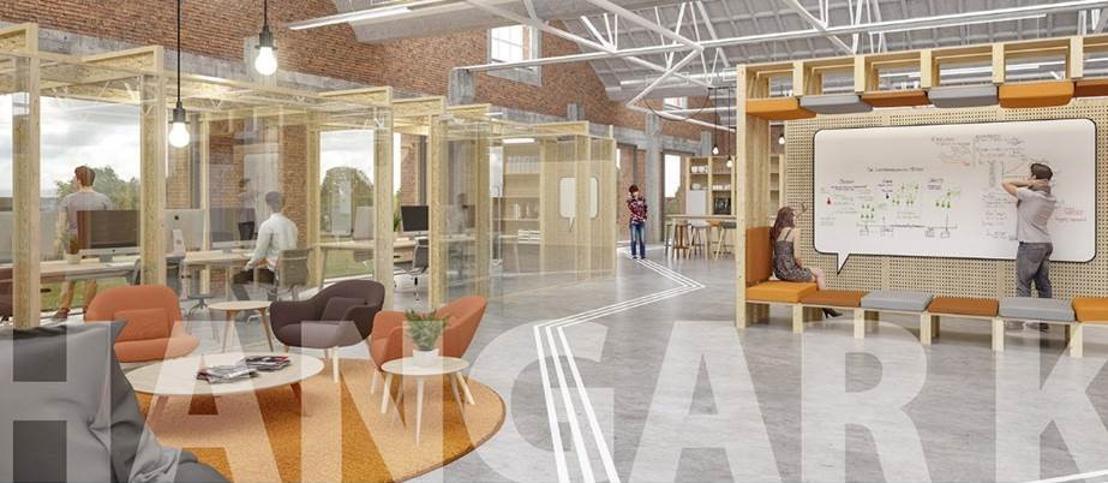 Reminder - Opgelet: uur is gewijzigd! - PERSUITNODIGING: Opening Hangar K, de nieuwe accelerator in Kortrijk